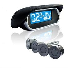 4 Probe Reversing Detector System Automatically Start Probing Auto Parking Sensors Car Microcomputer Intelligent Control стоимость