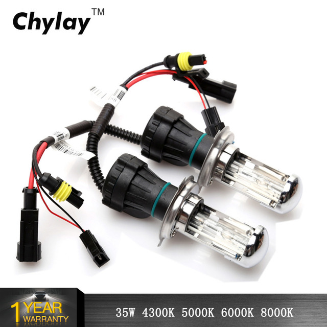 2pcs Bi Xenon H4 Xenon Lamp 35W H13 9004 9007 HID Bi Xenon