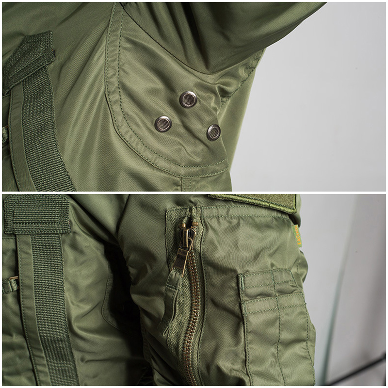 Mege marka mężczyźni taktyczne odzież militarna modna kurtka Bomber armia Parka na zewnątrz wiatroszczelna Multipockets Airsoft bojowe znosić w Kurtki od Odzież męska na  Grupa 3