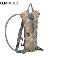 3L Large Capacity Military Bottle Pouch Tactical Kamp Hydration Backpack Water Bag Outdoor Camping Camelback Bicycle