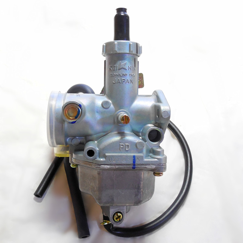 (free shipping)Keihin Line pull throttle PZ26 motorcycle carburetor 26mm Carb CG125CC Karting single-cylinder Riding type buggy 125cc cbt125 carburetor motorcycle pd26jb cb125t cb250 twin cylinder accessories free shipping