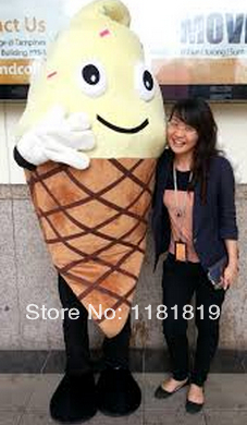 MASCOT icecream mascot costume ice cream custom fancy costume anime cosplay kits mascotte fancy dress