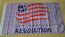 New England Revolution Flag MLS Flag Banner New 3x5ft 90X150cm Polyester Flag, free shipping