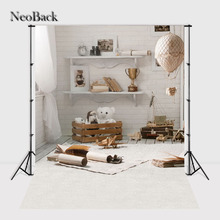 NeoBack Thin vinyl cloth New Born Baby Photography Backdrop children kids backdrops Printing Studio Photo backgrounds A1546 цены