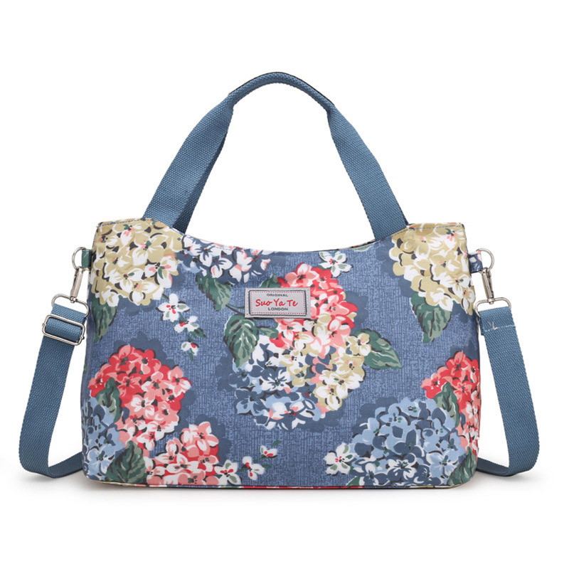 Women Handbag Mummy Diaper Bags Flower Print Large Capacity Waterproof Outdoor Infant Nursing Nappy Bag For Baby Care MBG0153