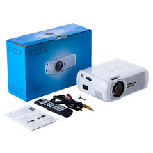 Everycom X7 Mini Projector 1800 Lumens TV Home Theater LED Projector Support Full Hd 1080p Video Media player Hdmi LCD 3D Beamer
