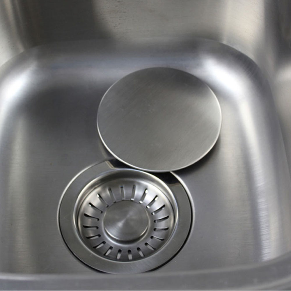 Talea Modren Stainless steel Sink strainer cover Drainer lid Garbage Disposal Handle Cover kitchen sink accessories QS135C014