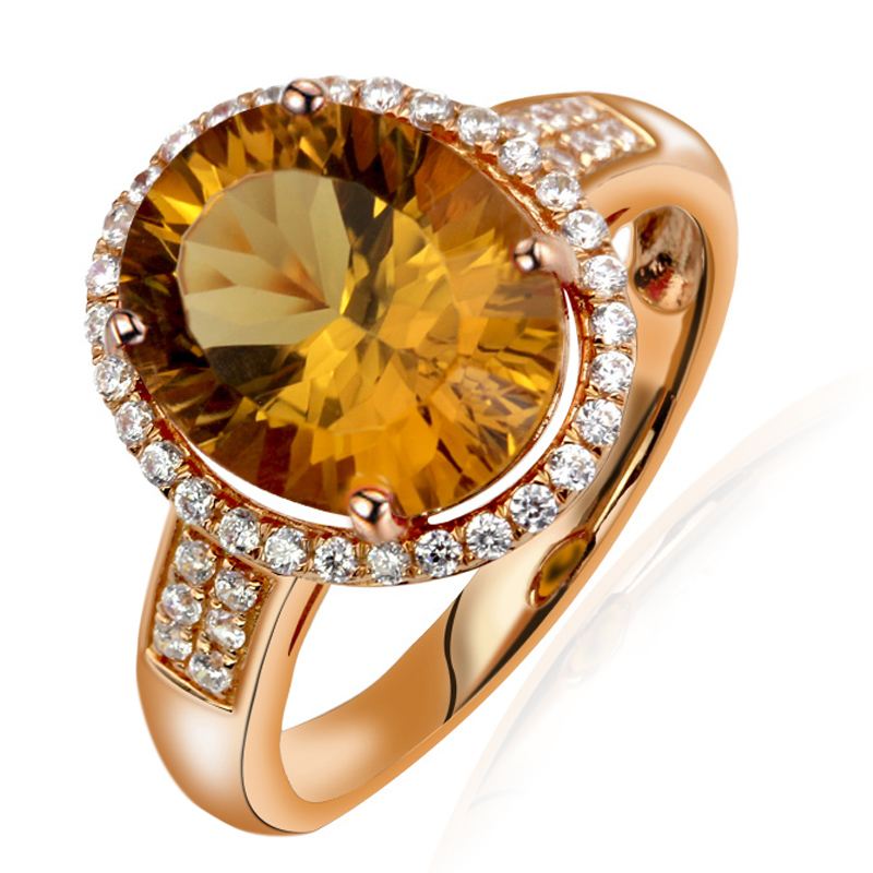 Natural Citrine Ring 925 Sterling silver Yellow Crystal Woman Fashion Fine Elegant Jewelry Princess Queen Birthstone Gift все цены