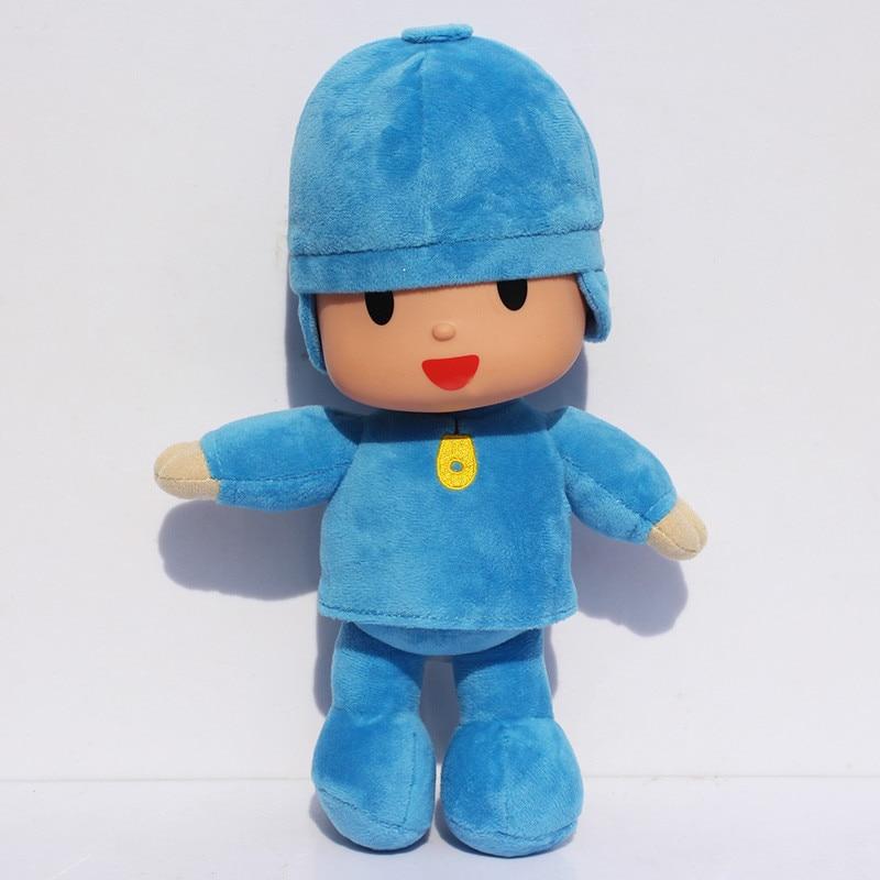 4pcs/lot 14-30cm Anime Cartoon Pocoyo Loula Elly Pato Soft Stuffed Animals Plush Toys