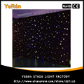Led Star Cloth Led Star Curtain wedding Stage light  Background  4*6M White & Blue Color for backdrop