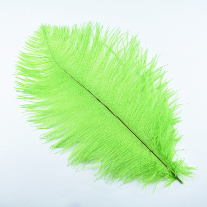 10Pcs Lot 35 40CM 14 16 quot Colored Ostrich Feathers for Crafts Wedding Decoration Feathers Jewelry Making Feathers Ostrich Plumes in Feather from Home amp Garden