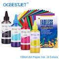 100 ML 4 Farben Kunst Papier Tinte Kunst Pigment Tinte Für Epson T50 T60 P50 R200 R230 R260 R280 L1300 1390 1400 1410 1500 W T1 100 T1110|t10 high power led|t10t10 led -
