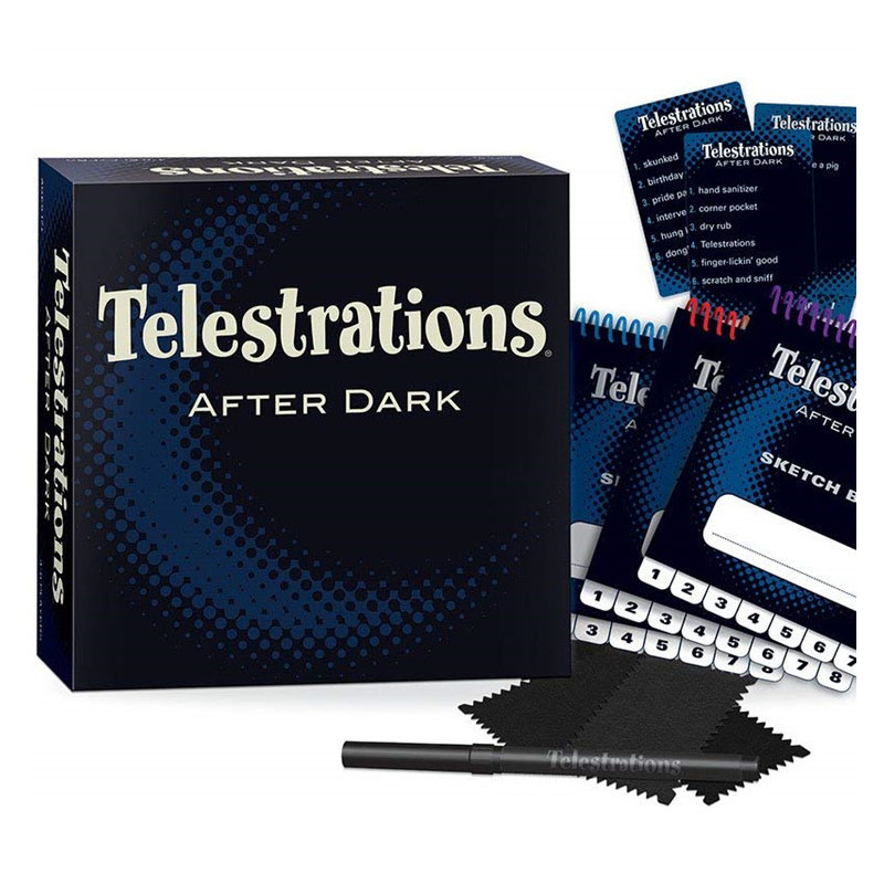 Interesting Telestrations After Dark Board Games Toys Adult Party Games Educational Toys