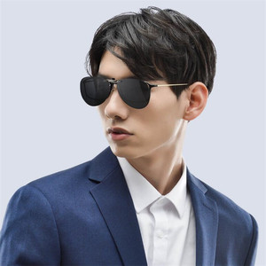 Image 2 - Очки ночного видения Youpin TS Driver/солнцезащитные очки Pilot, объектив TAC, поворот на 135 градусов, зажим из цинкового сплава, 10 г светильник легкий вес для ночного drivi