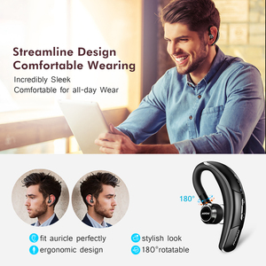 Image 3 - Mpow BH028 Bluetooth Earphone Single Wireless Headphone With 6 Hour Playing Time Handsfree Calling For Car Driver Business Style