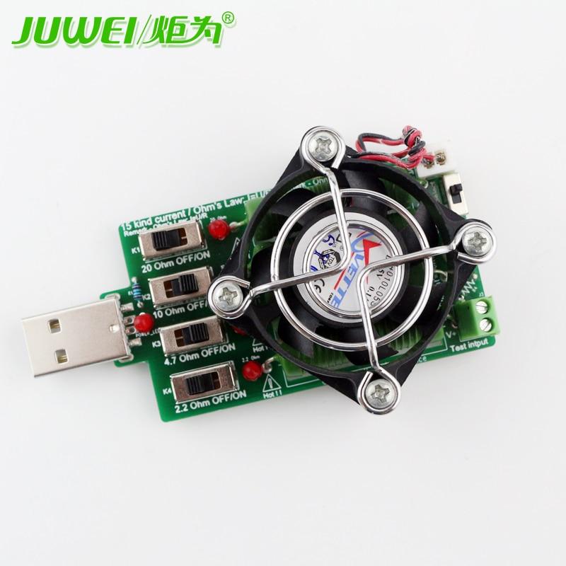Reguleeritav 15 tüüpi praegune USB-koormustakisti elektrooniline - Mõõtevahendid - Foto 5