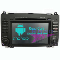 Roadloevr Android 6.0 Quad Core 7 Inch Car Radio DVD Player For Mercedes Benz B200 Stereo Automagnitol Double Din Multimedia MP3