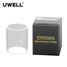 Cigarro Eletrônico Tubo de Vidro de Quartzo para CROWN1 UWELL/CROWN1 MINI/CROWN2/CROWN2 MINI/CROWN3/NUNCHAKU Substituir O Tubo do tanque