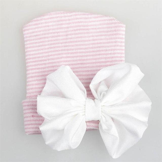 Pink White hat