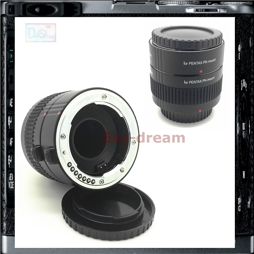 2 Rings AF Auto Focus PK Macro Extension Tube For Pentax K Mount Camera K-S1 K3 K-3 K7 K50 K-50 K30 K10 K5II K5 Km Kx K1000 K20D amopofo 500mm f6 3 32 telephoto lens for pentax k10d k20d k7 k5 kr km kx k30 k50 camera