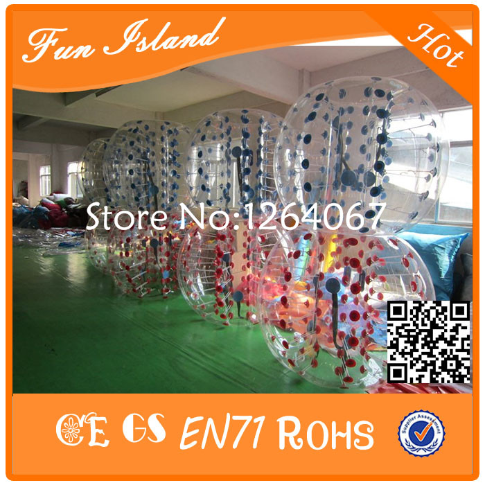 Cheap Price ! Inflatable Ball Suit,Soccer bubble,0.8mm PVC bubble soccer,Loopyball On Sale