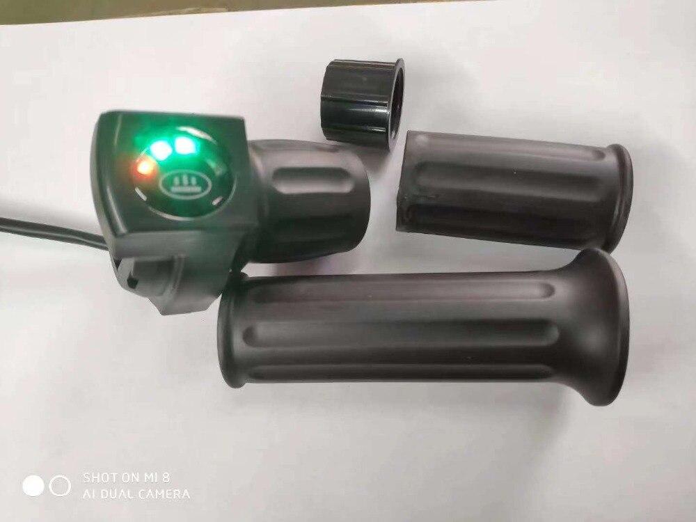24v36v48v Batterie Power/batterie Ebene Anzeige/halb-drehen Drossel Elektrischer Roller Dreirad Fahrrad Mountainbike Atv Diy Teile