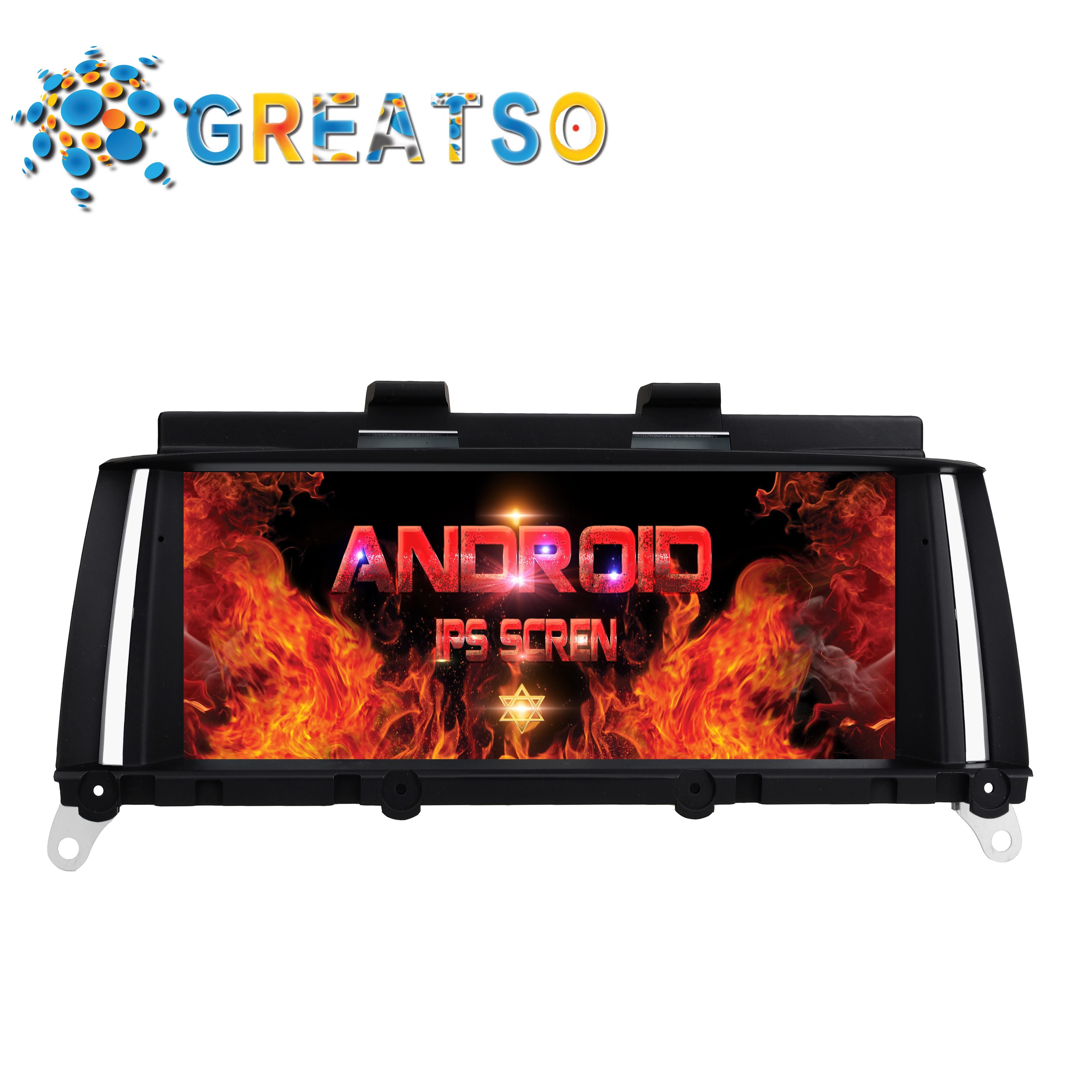 Android 7.1.1 DVD Audio de voiture pour BMW X3 F25 BMW X4 F26 gps voiture récepteur multimédia écran de moniteur de voiture