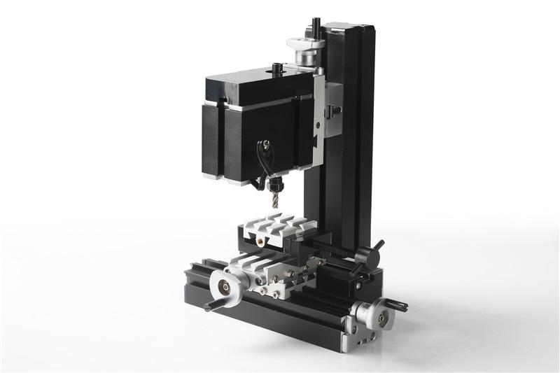 60W Electroplated Mini Metal Milling Machine. DIY Mini Lathe Machine Tool for Teaching of Chrildren