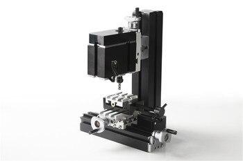 60 Wát Electroplated Máy Phay Kim Loại Nhỏ. DIY Mini Lathe Máy Công Cụ cho Giảng Dạy của Chrildren
