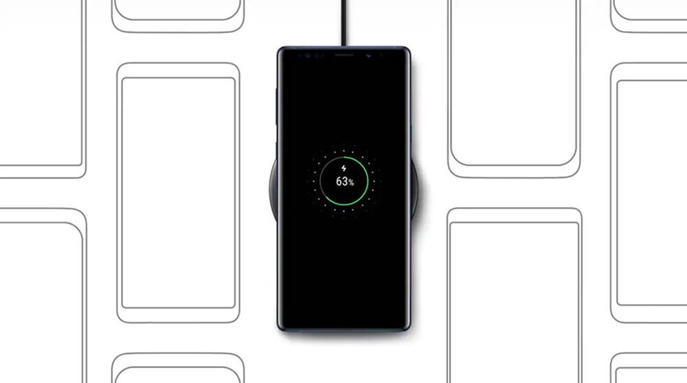 Samsung rápido cargador inalámbrico Qi de carga rápida 5