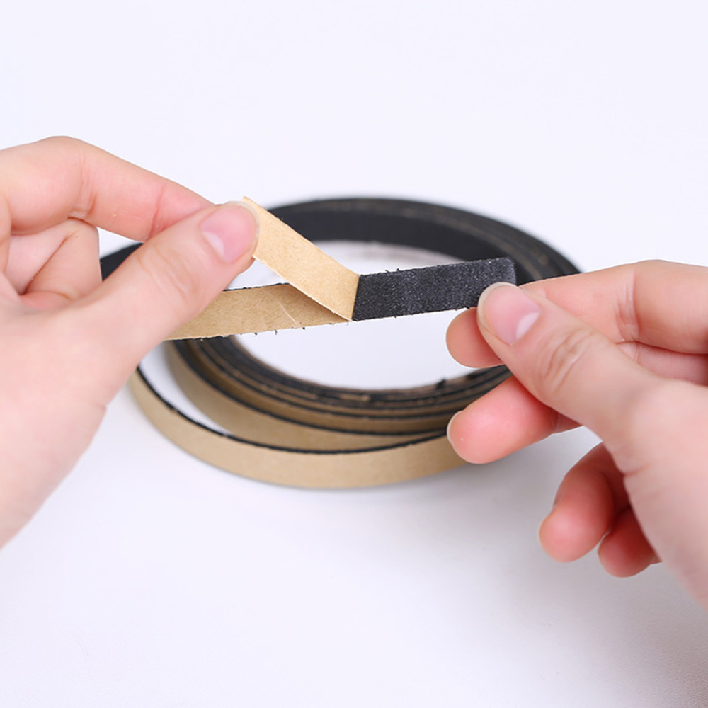 2M Black Waterproof Sealing Strips Security Kitchen Gas Stove Gap Window Dust Proof Sink Stove Crack Strip Office Adhesive Tape