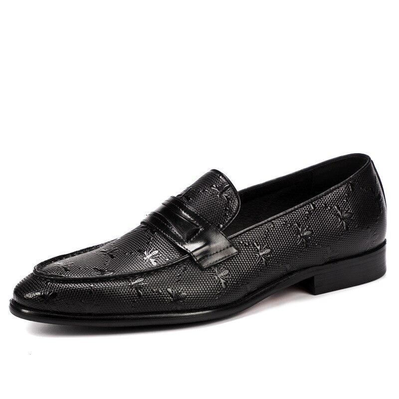 NORTHMARCH/брендовая официальная оксфордская обувь для мужчин; свадебные туфли на шнуровке; мужские повседневные мужские туфли в деловом стиле; ... - 2