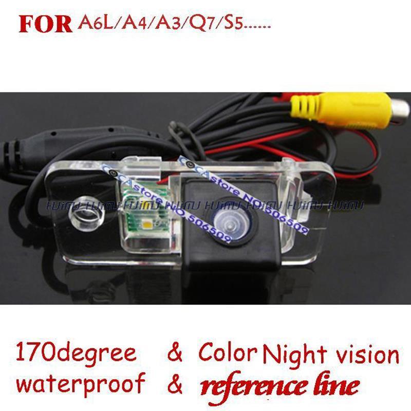 wire wireless Car Rear View Reverse backup Camera for AUDI A8 A6 A4 A3 Q7 S5 S6 S8 RS4 RS6 Avant Quattro / Cabrio parking assist