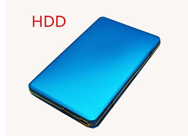 """Hot!! New 2019 đĩa Cứng 2 tb hdd externo 2.5 """"2.0 Xách Tay Ổ Cứng USB hdd Bên Ngoài ổ đĩa Cứng 1 TB 2 TB HDD Miễn Phí vận chuyển"""