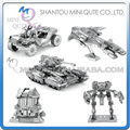 Piece Fun 3D Metal Puzzle game building halo UNSC SCORPION WARTHOG MANTIS PELICAN Adult DIY model boy education educational toy