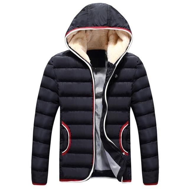 Gewatteerde Winterjas.Vergelijken Nieuwe Casual Hooded Katoen Gewatteerde Winterjas Mannen