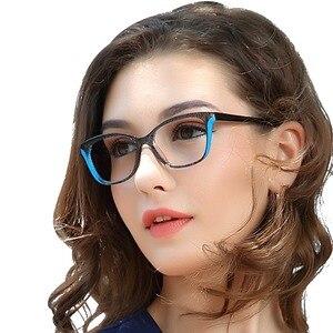 Image 4 - OCCI CHIARI gafas rectangulares para miopía para mujer, lentes ópticas transparentes, a la moda, monturas, W CANU, 2018