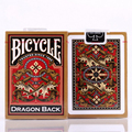 1 deck Bicycle Gold Dragon Back Playing Cards Golden Edition Poker Magic Deck magicTricks 83095