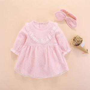 Image 1 - חדש נולד תינוקת בגדי שמלות ילדות קטנות בגדי סטים 0 3 חודשים יילוד ילדים סתיו חורף 2018 vetement enfant fille 6