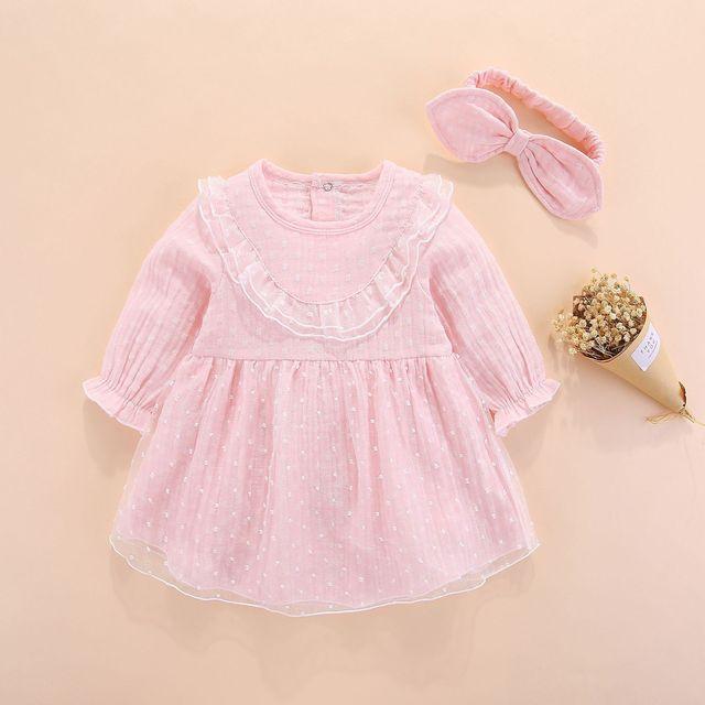 חדש נולד תינוקת בגדי שמלות ילדות קטנות בגדי סטים 0 3 חודשים יילוד ילדים סתיו חורף 2018 vetement enfant fille 6