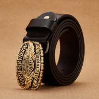 2018 Men Belt Cow Genuine Leather Luxury Strap Male Belts For Men New Fashion Classice Vintage