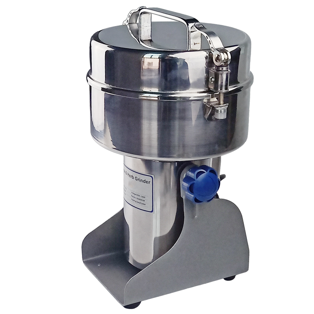 Automatic Swing Type Electric Grinder Mill Multifunction Big Capacity Grinder Crusher Machine Food Crops Mill For Spices CoffeeAutomatic Swing Type Electric Grinder Mill Multifunction Big Capacity Grinder Crusher Machine Food Crops Mill For Spices Coffee