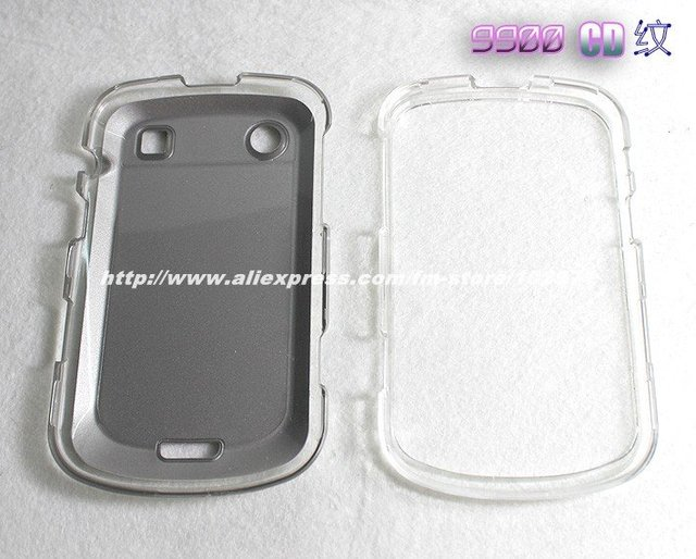 DHL Free Shipping High Quality Black Color PC + Aluminum Hard Case Back Cover for BlackBerry Bold 9900/9930