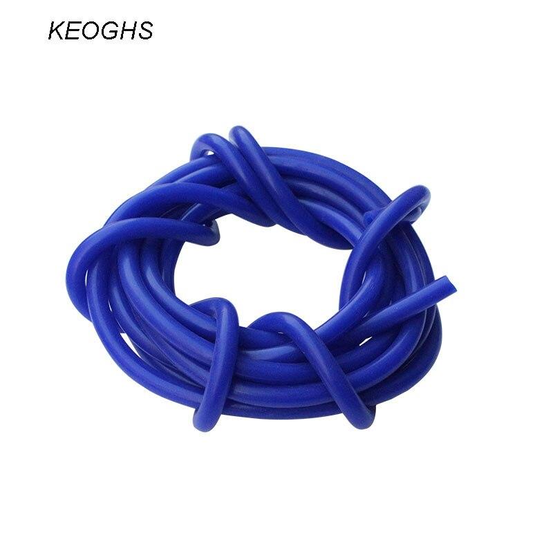 Prix pour KEOGHS Car styling vide tuyau flexible en silicone moteur collecteur d'admission d'air tuyau de raccordement 4 MM 1 mètre
