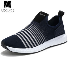 VIXLEO New Popular Style Men Casual Shoes Lace Up Comfortable Shoes Men Soft Lightweight Outsole Hombre Free Shipping