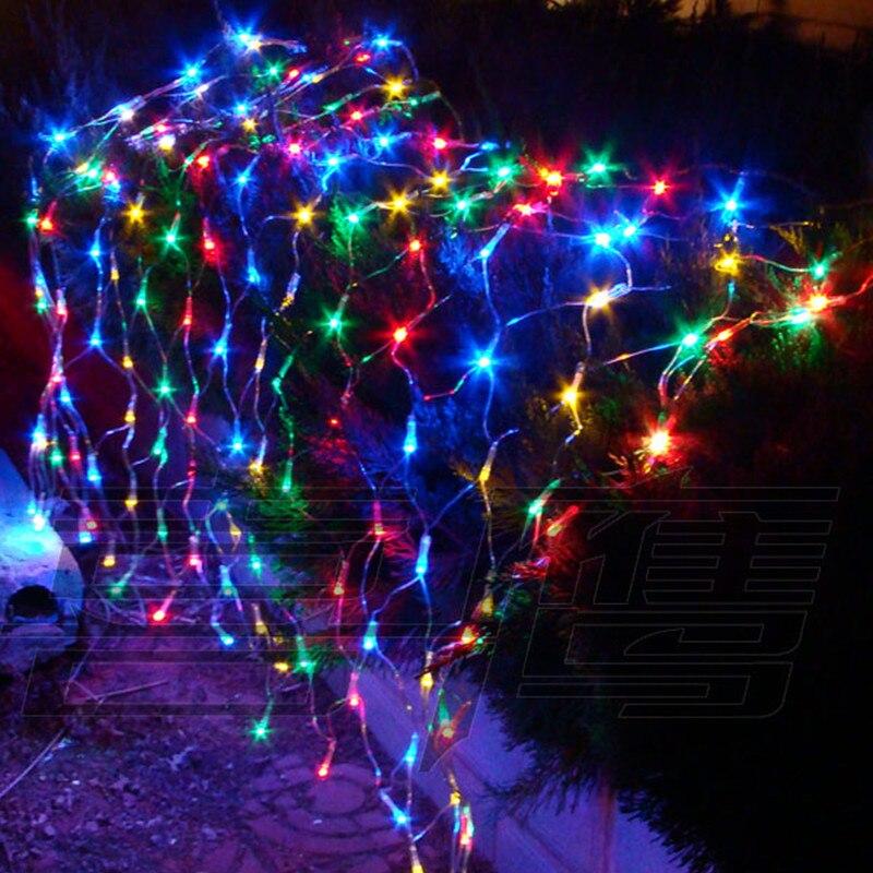 1 2m 1 5m 80 Led Net Lights Courtyard Waterproof Flashing