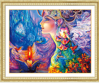 5D DIY Diamond Painting Flower Girl Butterfly Embroidery Cross Stitch Rhinestone Mosaic Painting Decor