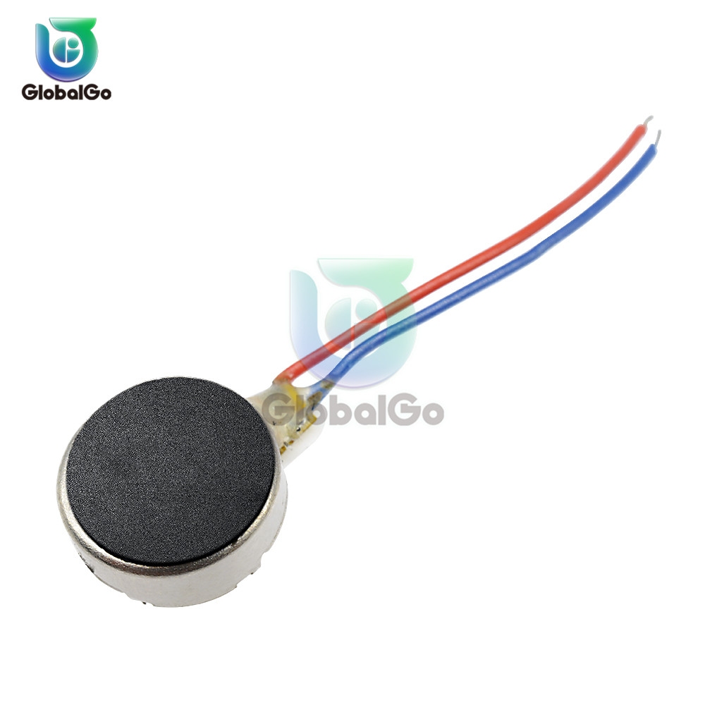 2pcs/Lot 3V 8MM <font><b>DC</b></font> Micro Vibration <font><b>Motor</b></font> Cell Phone Mobile Phone Vibrating <font><b>Motor</b></font> image