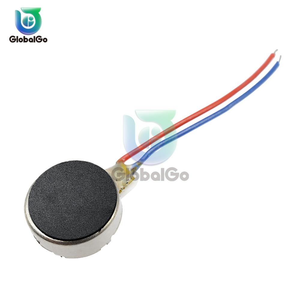 3V 8MM DC Micro Vibration Motor Cell Phone Mobile Phone Vibrating Motor