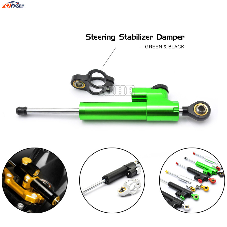 Steering Damper Universal Motorcycle CNC Stabilizer Linear Reversed Safety Control For yamaha TMAX 500 530 honda cbr kawasaki 2015 brand new universal motorcycle cnc aluminum steering damper blue color stabilizer linear reversed safety control 5 colors